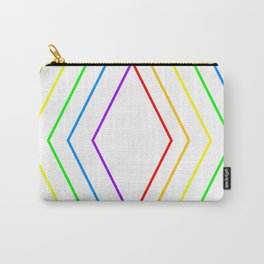 Rainbow Shape of You Carry-All Pouch