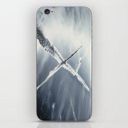 vapour-trails iPhone Skin
