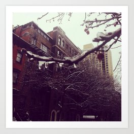 New York City - Upper East Side Art Print