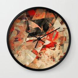 Confession Wall Clock
