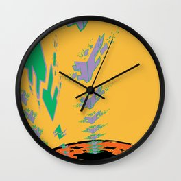 Sonic Invasion 3 Wall Clock