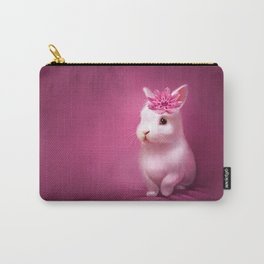 pink bunny Carry-All Pouch
