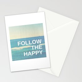 Follow the Happy Stationery Cards