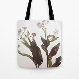 Leaf & Floral Tote Bag