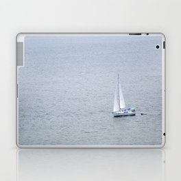 Lonely Sailboat Laptop & iPad Skin