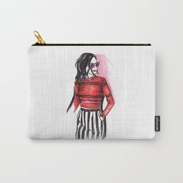 Fashion girl Carry-All Pouch
