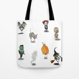 The Spooky Bunch Tote Bag