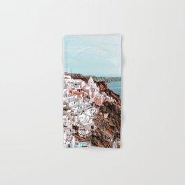 Santorini Greece, Fira Hand & Bath Towel