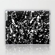 Splat Black Laptop & iPad Skin