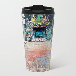 graffiti alley Metal Travel Mug
