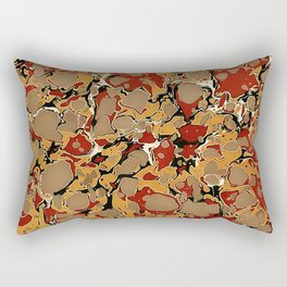 Old Marbled Paper 04 Rectangular Pillow