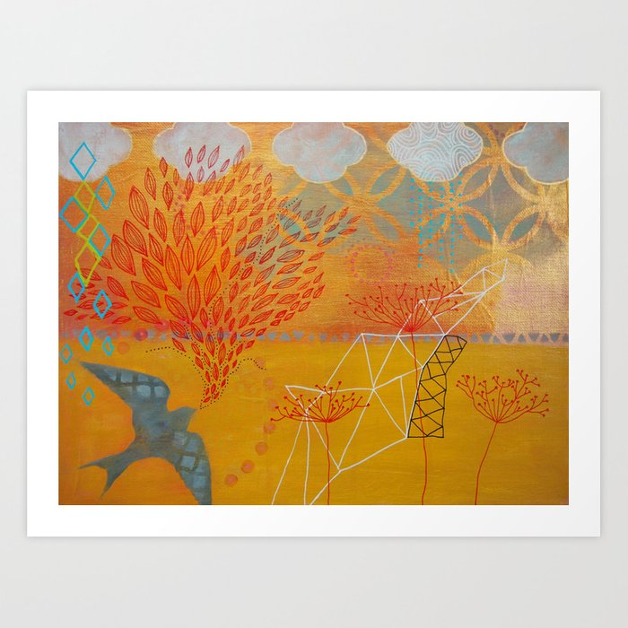 Spreading Joy Art Print