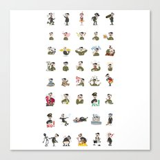 SticLer Canvas Print