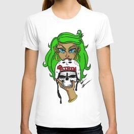 """""""Siren"""" Skater Skull T-shirt"""