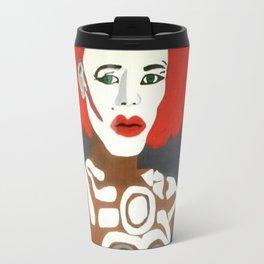 Grace Jones as Katrina Travel Mug