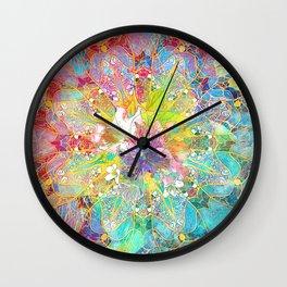 Flowers Dream Pattern Wall Clock