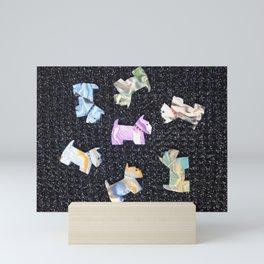 CIRCLE OF SCOTTIE FRIENDS Mini Art Print