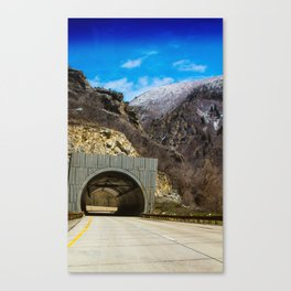 Provo Canyon, Utah Canvas Print