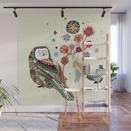 Owl wow Wall Mural