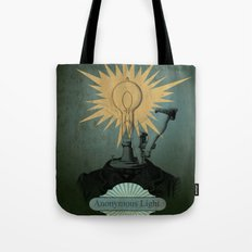 Anonymous Light Tote Bag