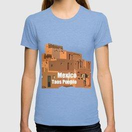 Mexico Taos Pueblo T-shirt