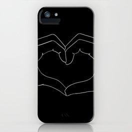 cœur iPhone Case