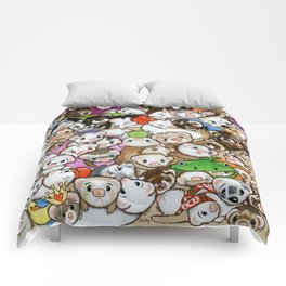 One Hundred Million Ferrets Comforters
