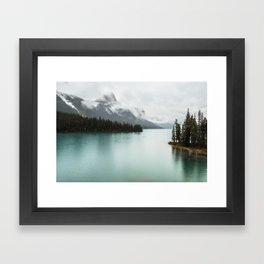 Landscape Photography Maligne Lake Framed Art Print