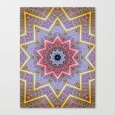 Mandala Faaa Raaa Oooon  Canvas Print