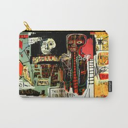 Jean-Michel Basquiat - Notary 1983 Carry-All Pouch