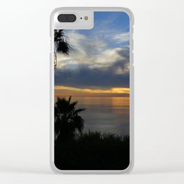 Palm Silhouette Clear iPhone Case