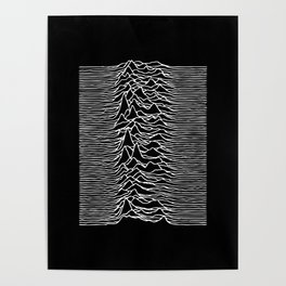 Distorted waves Poster