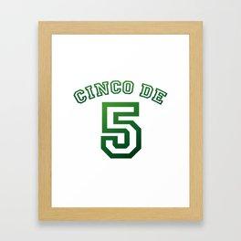Mexico Cinco De Mayo May 5th Framed Art Print