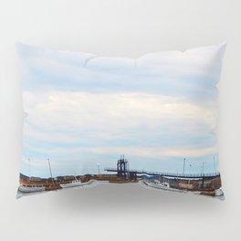 Ramp to Nova-Scotia and Harbour Pillow Sham