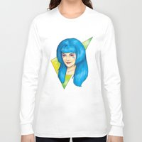 jem Long Sleeve T-shirts featuring Aja - Jem and the Holograms by CatAstrophe