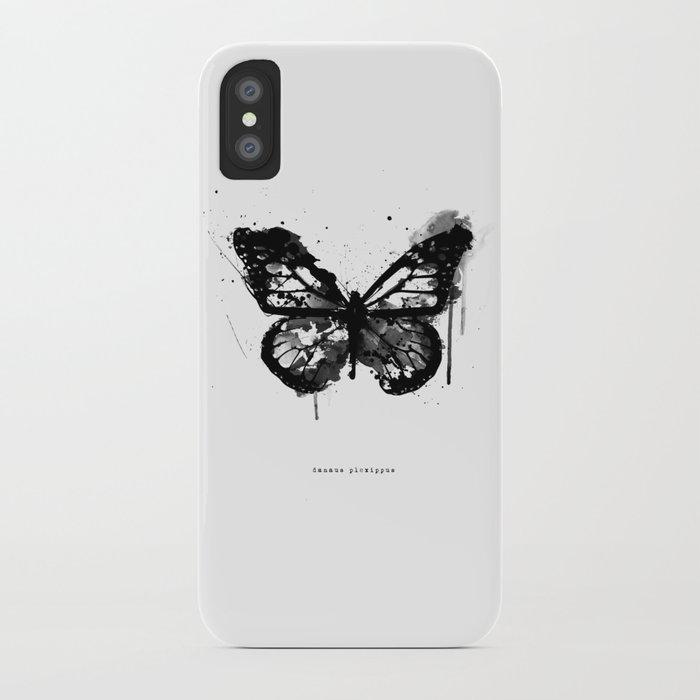 Black Monarch iPhone Case