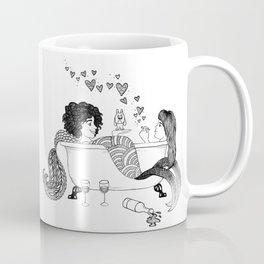 Broad City Mermaid Fan Art Coffee Mug