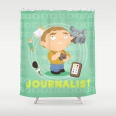 Journalist Shower Curtain
