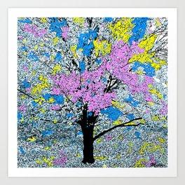 TREE SO PRETTY Art Print