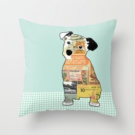 Jack Russel Collage  Throw Pillow