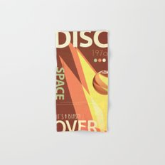 Vintage Space Poster Series II - Discover Space - It's a Blast! Hand & Bath Towel