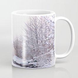 Snowy Landscape Coffee Mug