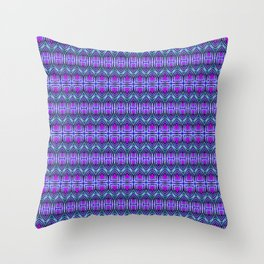 Moroccan Purple Throw Pillow