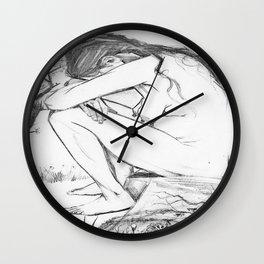Sorrow (After Vincent Van Gogh)  Wall Clock