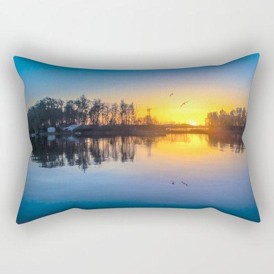 Soundtrack of silence Rectangular Pillow