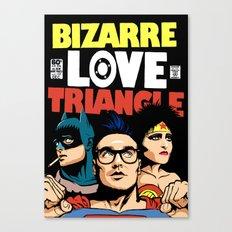 Bizarre Love Triangle: The Post-Punk Edition Canvas Print
