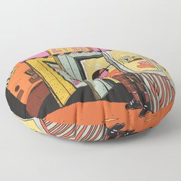 24 hr convenience Floor Pillow