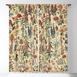 Adolphe Millot- Fleurs Blackout Curtain