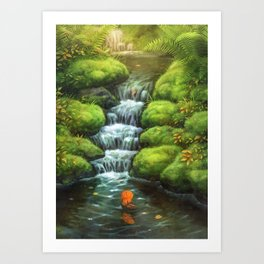 Little Stream Art Print