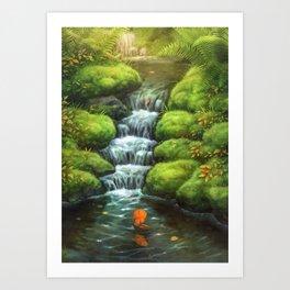 Little Stream Art Print